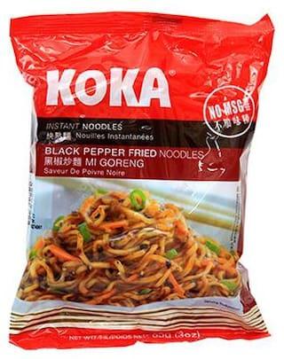 Koka Instant Noodles - Black Pepper Fried 85 g