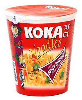 Koka Instant Noodles - Spicy Shrimp Flavour 70 gm