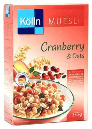 Kolln Muesli - Cranberry & Oats 375 gm
