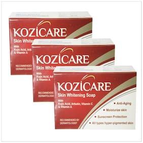 HealthVit Kozicare Skin Whitening Soap 75 g (Pack of 3)