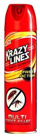 Krazy Lines Lines Multi-Insect Killer 200 ml