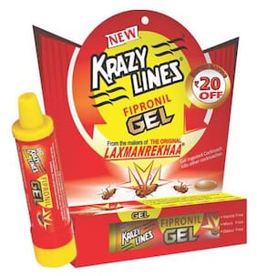 Krazy Lines Fipronil Gel - For Cockroaches 20 gm