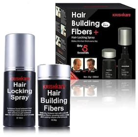Krishkare Hair Fiber with Locking Spray