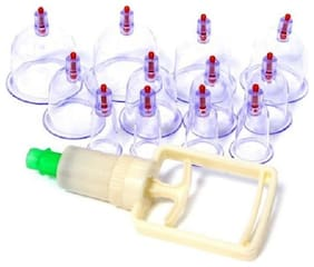 kudos 12pcs/set Chinese Health Care Medical Vacuum Body Cupping Therapy Cups