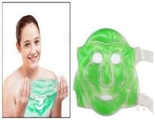 kudos  Aloe Vera Face Mask Suitable For All Skin With Gel Eye Mask Free
