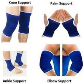 Kudos  Combo of knee Palm Elbow & Ankle Support