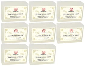 Kumkum Khadi Sandalwood Soap 125g (Pack of 8)