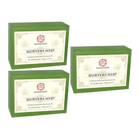 Kumkum Khadi Herbal Aloevera Soap 125g (Pack Of 3)