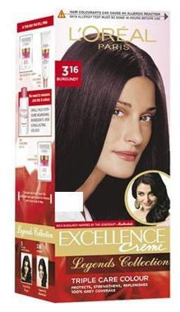 L'Oreal Paris L'Oreal Paris Excellence Creme hair colour  Burgundy 3.16 50 g 50 g
