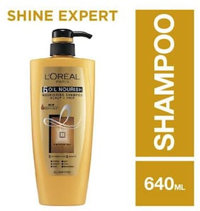 L'Oreal Paris 6 Oil Nourish Shampoo 640 ml