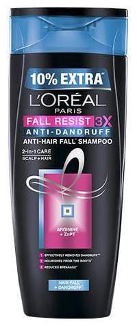 L'oreal Paris Fall Resist 3X Anti-dandruff Shampoo 360 ml