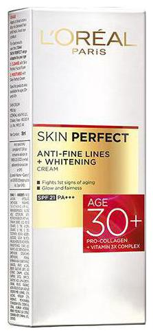 Loreal Paris Skin Perfect 30+ Anti-Fine Lines Cream 20 gm