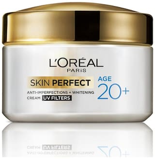 L'Oreal Paris Skin Perfect Age 20+ Anti - Imperfections And Whitening Cream 50 ml
