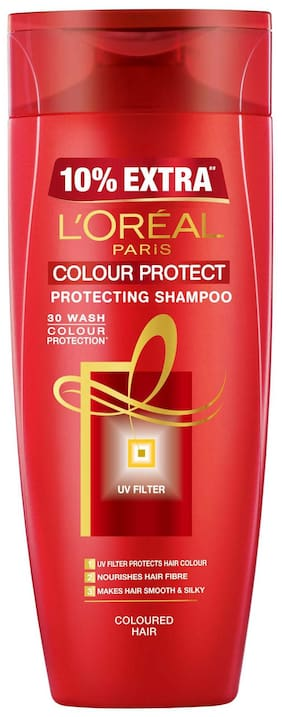 L'Oreal Paris Color Protect Shampoo  175Ml + 10% Extra