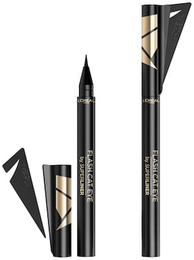 L'Oreal Paris Flash Cat Eye Eyeliner;Black 0.6g