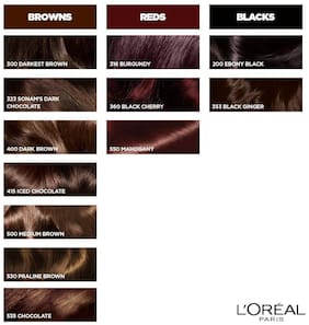 L'Oreal Paris Casting Creme Gloss Hair Color - Medium Brown 500