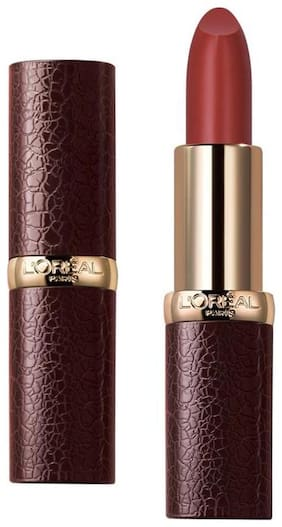 L'Oreal Paris Luxe Leather Matte Limited Edition Lipstick;294 Melissa 3.7gm