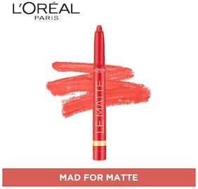 L'Oreal Paris Color Riche Le Matte Lipstick Mad For Matte