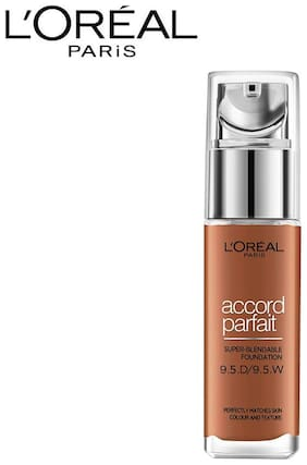 L'Oreal Paris True Match Foundation 9.5D/W Mahogany