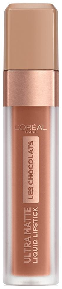 L'Oreal Paris Ultra Matte Les Chocolats Liquid Lipstick (Brown) 6.3 g