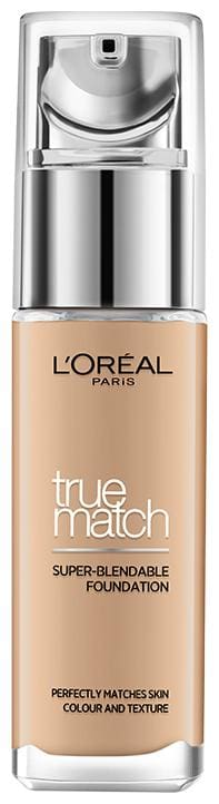 L'Oreal Paris True Match Super Blendable Liquid Foundation Golden Caramel 6.5D 6.5W