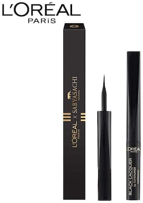 L'Oreal Paris Superliner Black Lacquer Sabyasachi Collection 6 gm