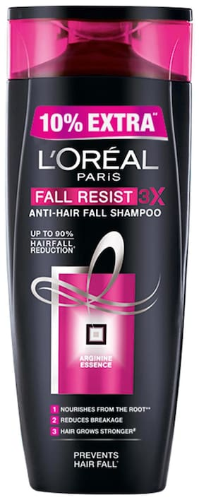 L'Oreal Paris Fall Resist 3X Shampoo 360 ml + 10% Extra