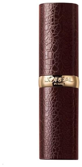 L'Oreal Paris Luxe Leather Matte Limited Edition Lipstick;291 Arya 3.7gm
