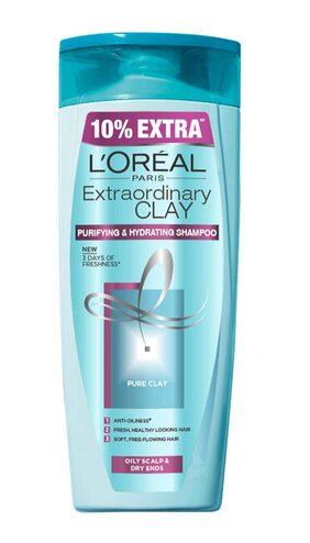 L'Oreal Paris Extraordinary Clay Shampoo 175 Ml + 10% Extra