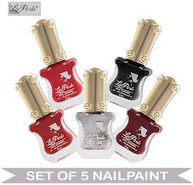 La Perla (LP-NPCMB5-6439) - CH Piano Multicolor Nail Paint - (Set of 5) - 10 ml Each