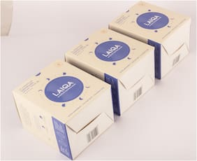 Laiqa Absorbant Pack :Premium Sanitary Napkins Cosyfluff Night Pads XL 10 Pads 315mm - 3 BOX