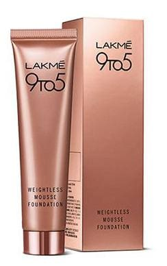 Lakme 9 to 5 Weightless Mousse Foundation 29 gm