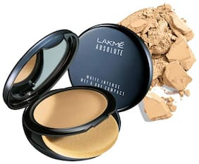 Lakme Absolute White Intense Wet And Dry Compact Rose Fair 02 Long Lasting With Spf 9 g