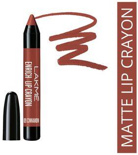 Lakme Enrich Lip Crayon, Cinnamon Brown, 2.2 g