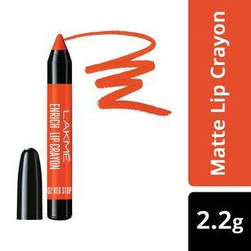 Lakme Enrich Lip Crayon Red Stop 2.2 G