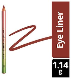 Lakme Eye Liner - 9 to 5 Naturale Gel, Plum Red 1.14 gm