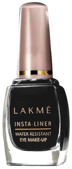 Lakme Insta Eye Liner,Black,Water Resistant,Long-Lasting,9 ml