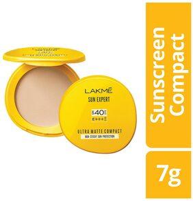 Lakme Sun Expert Ultra Matte SPF 40 PA+++ Compact, 7 g