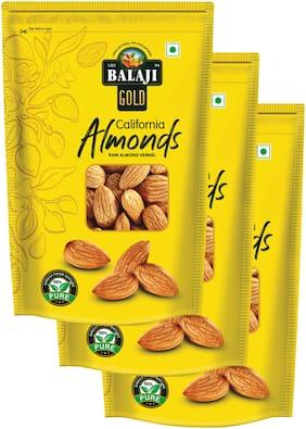 LALI Balaji California Almond 250g (Pack Of 3)