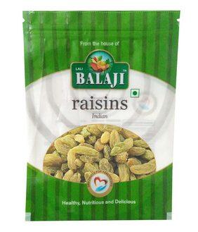 Balaji Green Indian Raisins/Kishmish 200G