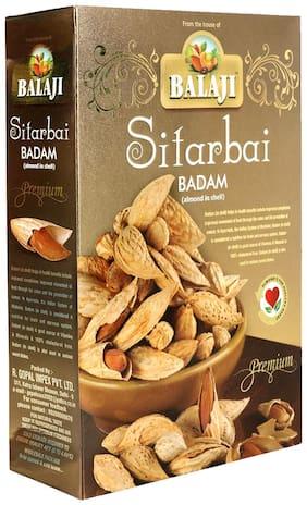Balaji Sitarbai Almonds Inshell 500G (Pack Of 1)