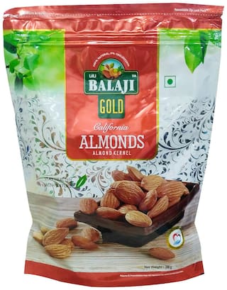 Balaji Calfornia Almonds 200G (Pack Of 1)