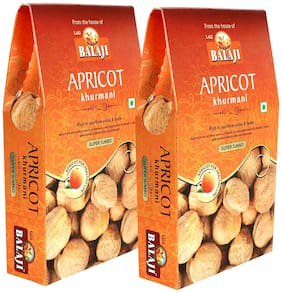 Balaji Apricot Gold 500G (Pack Of 2, 250g Each)