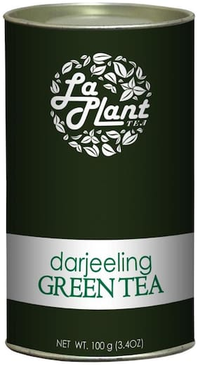 Laplant Darjeeling Green Tea, Long Leaf - 100 g