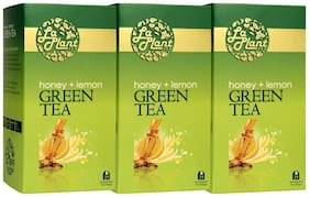 LaPlant Honey & Lemon Green Tea - 75 Tea Bags