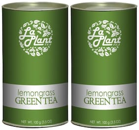 Laplant Lemongrass Green Tea - 200 G