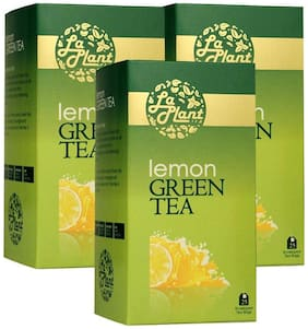 LaPlant Lemon Green Tea - 75 Tea Bags