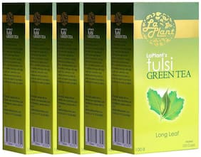 Laplant Tulsi Green Tea, Long Leaf - 500 g