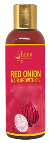 Lass Naturals Red Onion Hair Growth Oil 100 ml (Pack of 2)