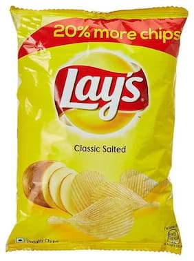 Lays Potato Chips - Classic Salted  28 g